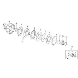 Comer (1) Obudowa z widłakiem T50 141025387