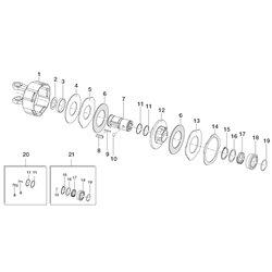 Comer (1) Obudowa z widłakiem 141022415