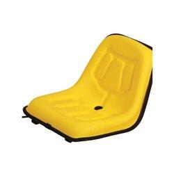 Siedzenie jednolite, żółte