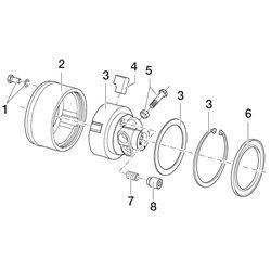 Comer (1) Śruba M12x1,25x25 z podkładką 165000708