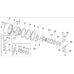 Comer (3) Piasta LR2F - 3000 Nm      165000775