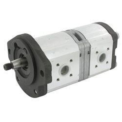 Pompa hydrauliczna Bosch 19+11 ccm lewa 7700699934, 0510665417