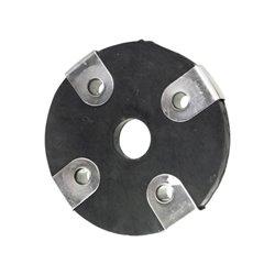 Tarcza gumowa, sprzęgła, 4 otwory, RCW3