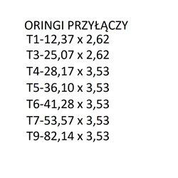 Złącze Trójnik Męskie-T T6/T6/T5