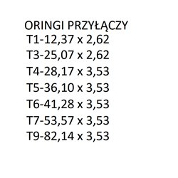 Złącze Trójnik Męskie-T T6/T6/T6