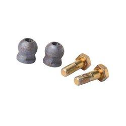 2 kule ze śrubami M16x50