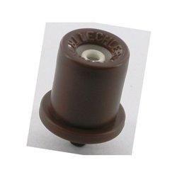 Dysza o pustym stożku TR 80° fioletowa, ceramiczna