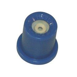 Dysza o pustym stożku TR 80° niebieska, ceramiczna