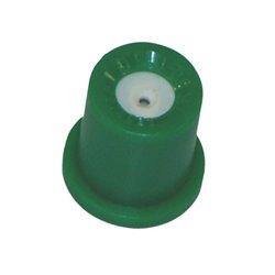 Dysza o pustym stożku TR 80° zielona, ceramiczna