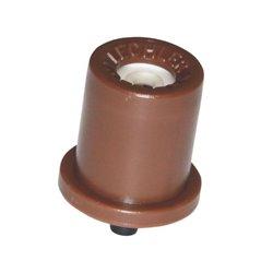 Dysza o pustym stożku TR 80° brązowa, ceramiczna