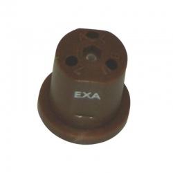 Dysza nawozu płynnego EXA 3-otworowa brązowa