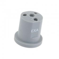 Dysza nawozu płynnego EXA 3-otworowa szara