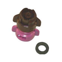 Rozpylacz inżektorowy TDXL 110° fioletowy w części, ceramiczny