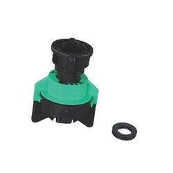 Rozpylacz inżektorowy TDXL 110° czarny, z tworzywa sztucznego
