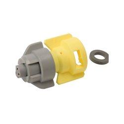 Rozpylacz nawozowy TDVR 02 żółty plastik