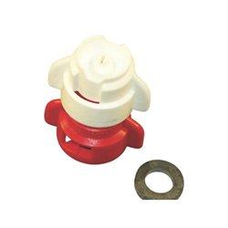 Rozpylacz inżektorowy TDXL 110° zielony w części, ceramiczny
