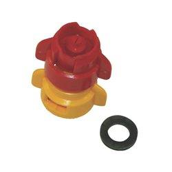 Rozpylacz inżektorowy TDXL 110° żółty, z tworzywa sztucznego
