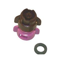 Rozpylacz inżektorowy TDXL 110° fioletowy, z tworzywa sztucznego