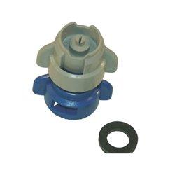 Rozpylacz inżektorowy TDXL 110° niebieski, z tworzywa sztucznego