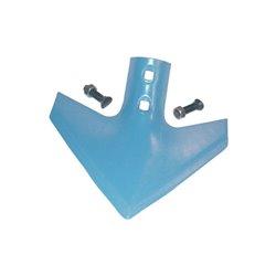 Gęsiostopa 26 cm x 8 mm niebieska, ze śrubami