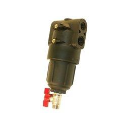 """Filtr ciśnieniowy wej. 3/4"""" wyj .1/2""""  80 Mesh wkład Inox żółty"""