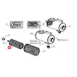 Filtr powietrza (6005002529) bezpiecznik
