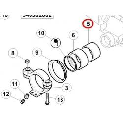 Tulejka wewnętrzna 115x125x44 czopa osi (6000103312)
