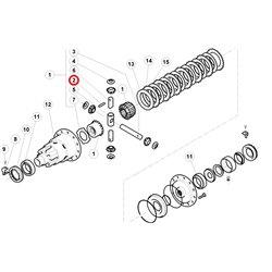 Artykuły metalowe - małe części D7x40