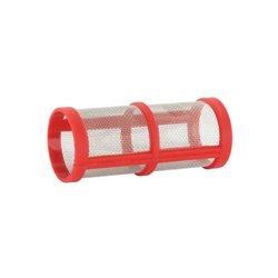 Wkład Filtra Inox 32mesh Ø 27 X 69 Czerwony