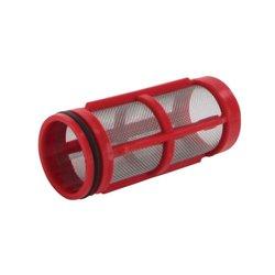 Wkład Filtra Inox 32mesh Ø 38 X 89 Czerwony