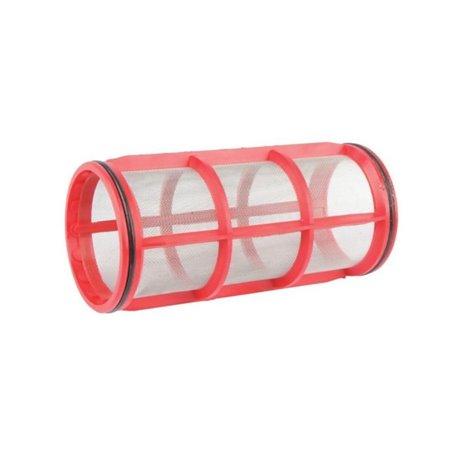 Wkład Filtra Inox 32mesh Ø 70 X 148 Czerwony