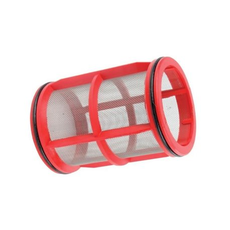 Wkład Filtra Inox 32mesh Ø 70 X 100 Czerwony