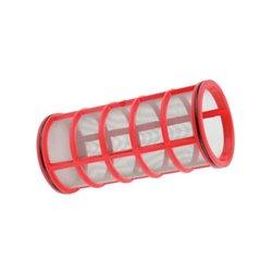 Wkład Filtra Inox 32mesh Ø 80 X 170 Czerwony