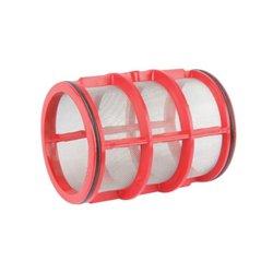Wkład filtra Inox 32 Mesh Ø 80 X 108 czerwony