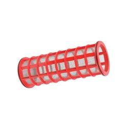 Wkład filtra Inox 32 Mesh Ø 107 X 286 czerwony