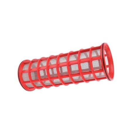 Wkład Filtra Inox 32mesh Ø 145 X 320 Czerwony