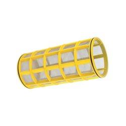 Wkład Filtra Inox 80mesh Ø 145 X 320 żółty