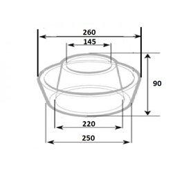 Odstojnik kurzu filtra wstępnego powietrza