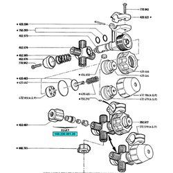 Membrana antykapacza fi38mm Berthoud