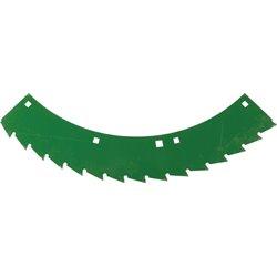 Nóż tnący zielony prawy