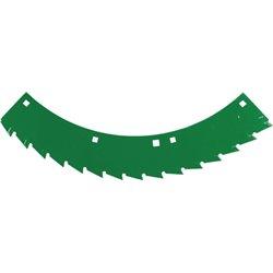 Nóż tnący zielony lewy