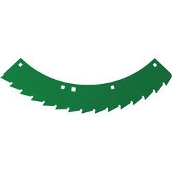 Nóż tnący zielony