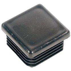 Nakładka kwadratowa żebrowana, 30 x 30 mm
