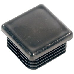 Nakładka kwadratowa żebrowana, 90 x 90 mm