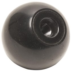 Gałka kulista czarna , M16 x 50 mm