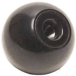 Gałka kulista czarna , M8 x 25 mm