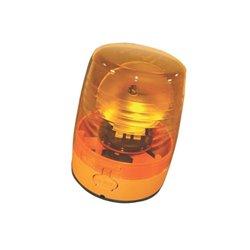 ![CDATA[  Lampa sygnalizacyjna KL Junior plus F , płaska, obrotowa z moc. sztywnym, 12 V/24 V]]