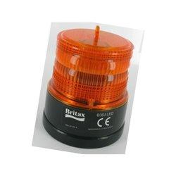 ![CDATA[  Minilampa sygnalizacyjna, obrotowa, LED, na baterie]]