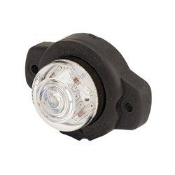 Lampa obrysowa, przednia LED, 129, 12 V - 24 V, biała