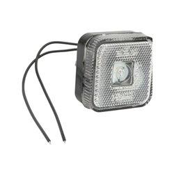Lampa pozycyjna LED, 303, 12 V - 24 V, przednia